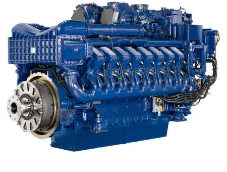 Двигатель MTU